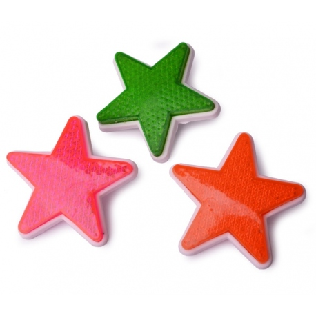 bycicle refector star