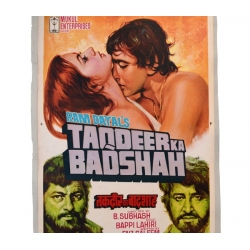 Film- Plakat Bollywood TAQDEER
