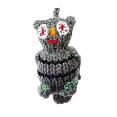 hanging wool puppet