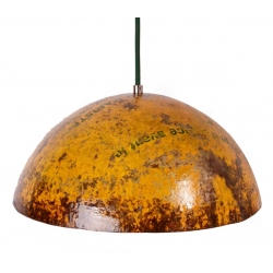 lamp made of oil barrel, L