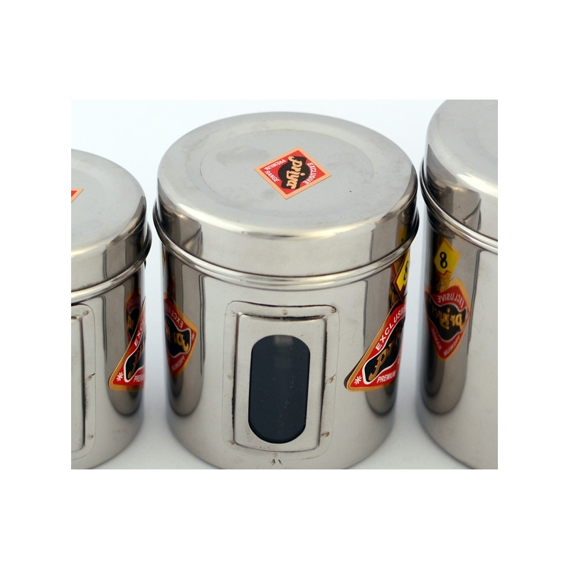 Stainless Steel Spice Can 3 Sizes