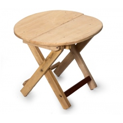 foldable table, wood