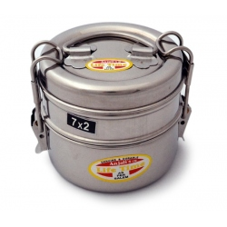 lunchbox stainless steel round