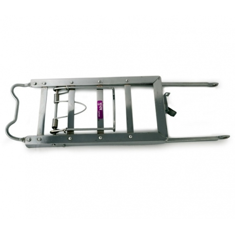 luggage carrier chrome