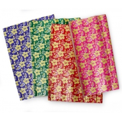 8 pcs. wrapping paper floral