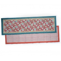blockprint tablerunner