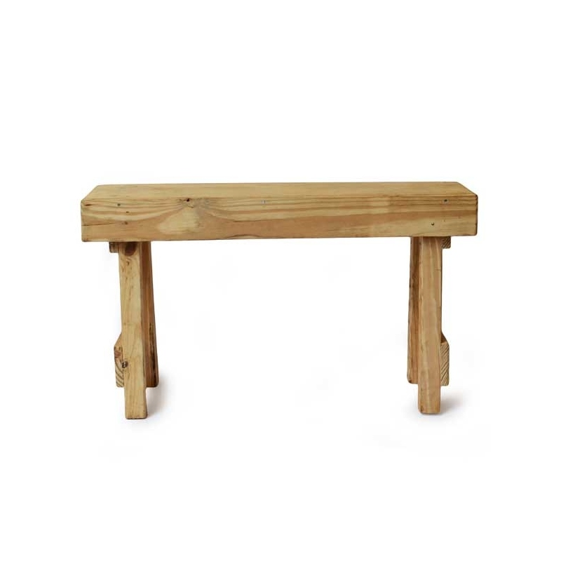 Small Furniture Wooden Bench Senegal