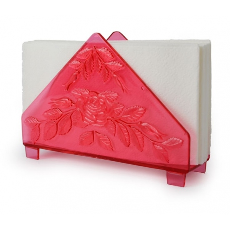 serviette holder rose