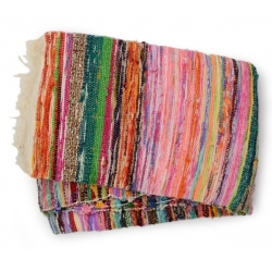rag rug M, narrow stripes